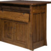 Amish Grant Frontier Island Cabinet Open