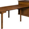 Amish Grant Frontier Island Table Extended