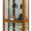 Amish Leda Large Curio Cabinet