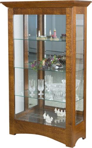 Amish Leda Curio Cabinet