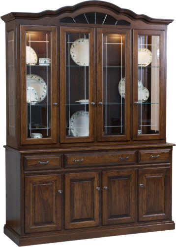 Amish Legacy Hutch with Four Doors
