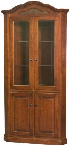 Amish Legacy Corner Curio Cabinet