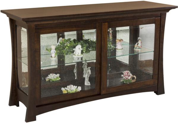 Amish Lexi Curio Cabinet