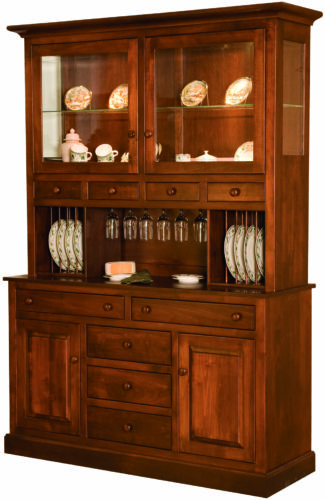 Amish Munford Two Door Hutch