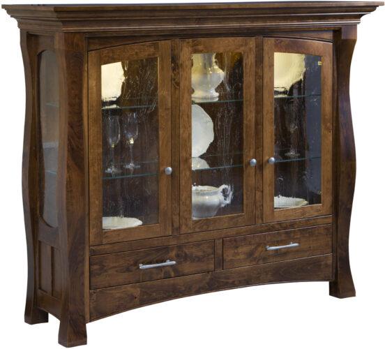 Amish Reno Curio Cabinet