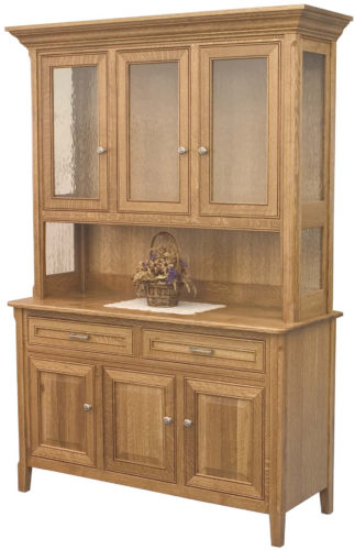 Amish Siesta Three Door Hutch