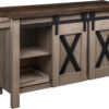 Amish Xavier Small Sideboard Open