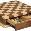 Checkerboard with Drawer Open