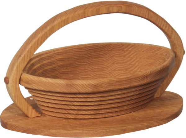 Collapsible Basket With Football Base