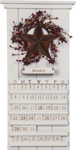 White Star Perpetual Calendar