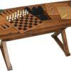 Burlington Game Table with Pieces Shown