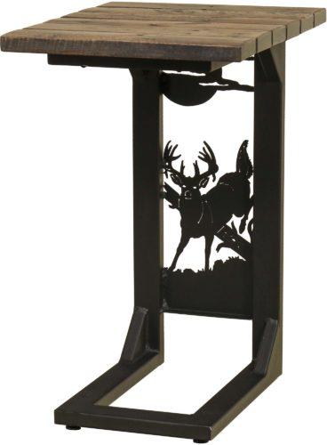 Rustic Whitetail Deer Sofa Server