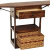 Ironing Cart with Drawer Open