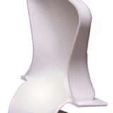 Spindle Back Style Potty Chair without Lid with With Squirter Diverter