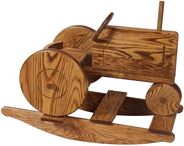 Oak Tractor Rocker