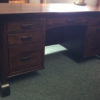 Front View of Harmony Executive Desk