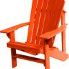 Burnt Orange Adirondack Chair