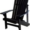 Adirondack Chair Painted Black