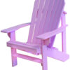 Adirondack Chair Painted Pink