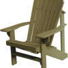 Adirondack Chair with Taupe Paint