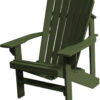 Adirondack Chair with Sage Green Paint