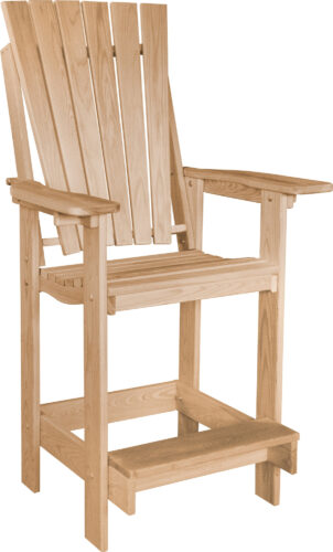 Euro Patio Bar Chair
