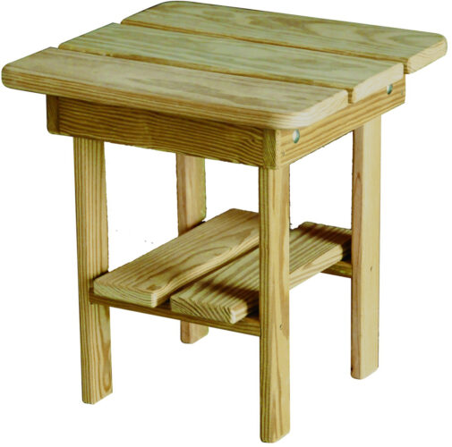 Treated Pine Accent Table