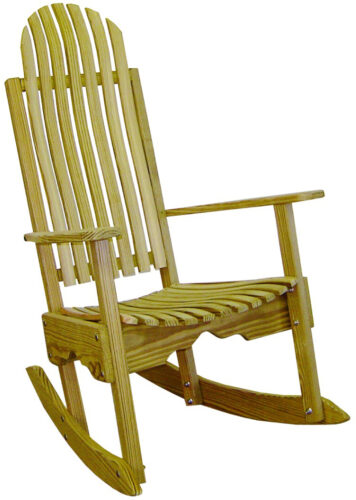 Treated Pine Porch Rocker