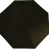 Chocolate Umbrella Fabric