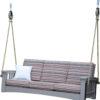 Weatherwood Mission Sofa Poly Rope Swing