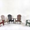 Poly Lumber Adirondack Folding Chairs