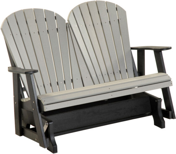 Poly Double Adirondack Glider