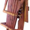 Cedar Adirondack Chair Folded