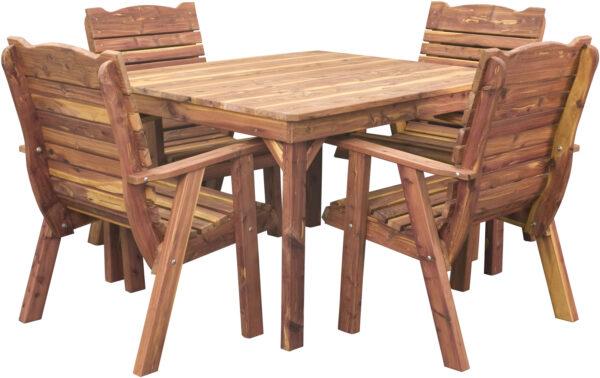 Cedar Casual Dining Table Set