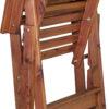 Folded Cedar Director's Chair