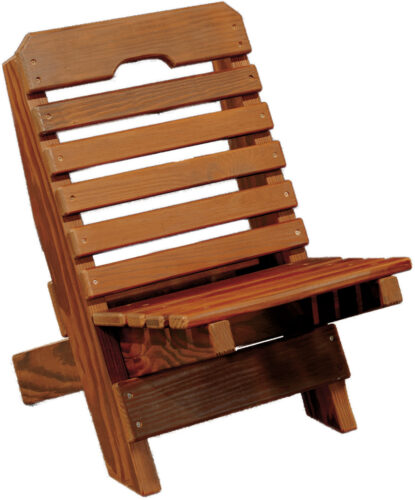 Cedar Kid's Fisherman's Chair