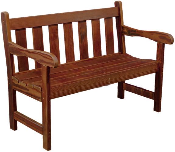 Cedar 4 Ft. Garden Bench