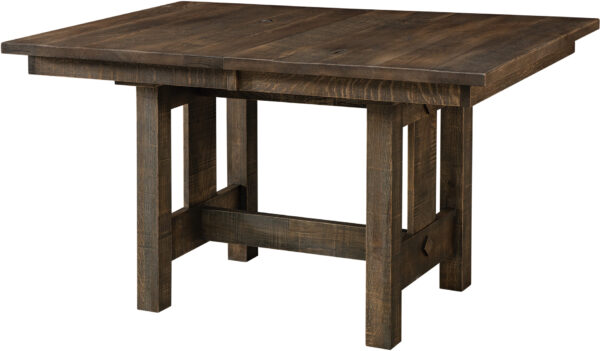 Amish Dallas Trestle Dining Table