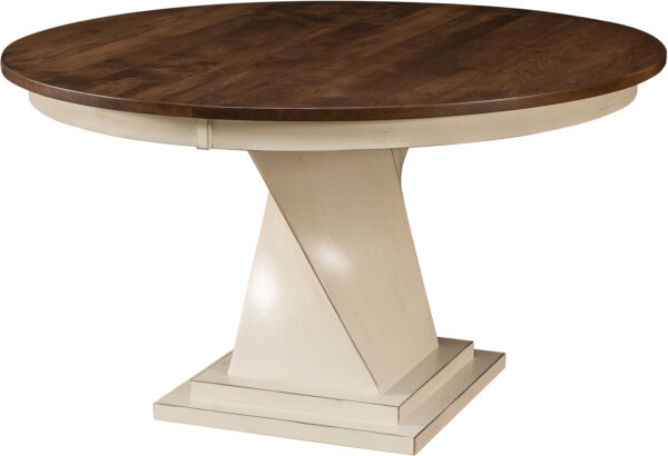 Amish Lexington Single Pedestal Table