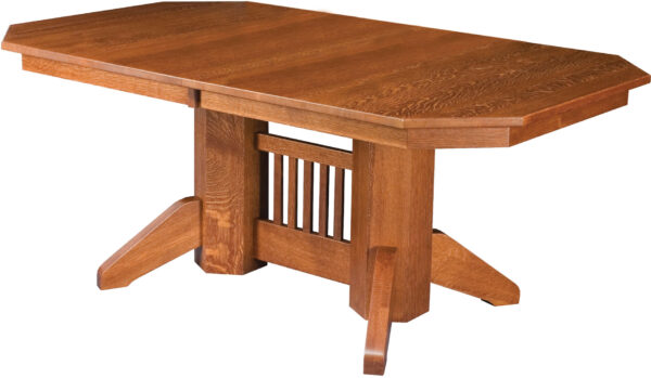 Amish Marbarry Trestle Table