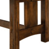 Amish Ravena Trestle Dining Table Detail