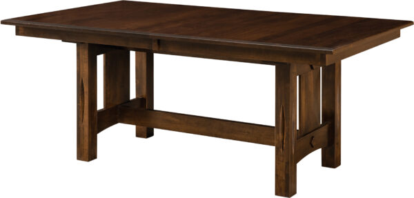 Amish Ravena Trestle Dining Table