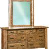 Amish Fenwood 7 Drawer Dresser