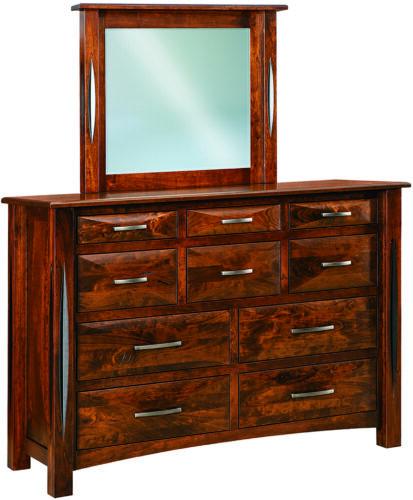 Ravena 10-Drawer Mule Dresser