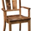 Amish Elliot Dining Arm Chair