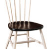 Amish New Oxford Dining Chair with Two Tone Finish