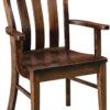 Amish Raleigh Dining Chair with Arms