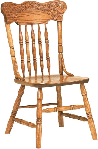 Amish Spring Meadow Pressback Side Chair