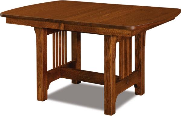 Custom Craftsman Mini Trestle Dining Table