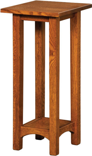 Custom Arts and Crafts Plant Stand 18 Inches High